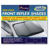 XXL Front Reflex Shades (Two Pieces)/Twist shade Spring Shade P/N 8575
