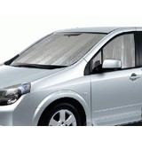 Silver Interior Sun Shade With Side Panels For Front Side Windows MR03SL