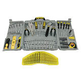 Tool Kit Deluxe 125 Piece Kit Sockets Wrenches Screwdrivers Bits TK125