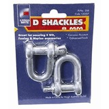 Towing Accessories &Raquo; D Shackle 8mm Pair