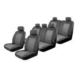 Custom Seat Covers Set Suits Nissan Pathfinder R52 ST / ST-L / Ti Wagon 10/2013-On 3 Rows