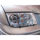 Head Light Protectors Nissan Patrol GU 6 Ute 8/2007-On N200H Headlight