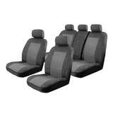 Esteem Velour Seat Covers Set Suits Honda Civic Hybrid 4 Door Sedan 2006-On 2 Rows