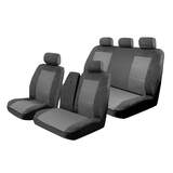 Esteem Velour Seat Covers Set Suits Hyundai Iload Van 02/2008-On Rear Row Only