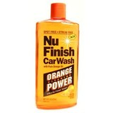 Nu Finish Car Wash Orange Oil 473 Ml NuFinish