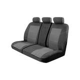 Custom Made Esteem Velour Seat Covers Iveco 50 C/18 Truck 2008-On 1 Row