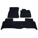 Floor Mats Ford Ranger PX Dual Cab 2012-On Custom Front & Rear