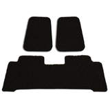 Custom Floor Mats Toyota Hilux Dual Extra Cab 3/2005-2012 Front & Rear Rubber Composite PVC Coil