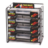 GJ Works 4 Shelf Grab Kit Dispenser (Packaged Products Not Included)