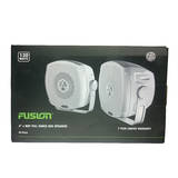 Fusion Marine 4 Inch 2 Way Box 120W Speakers MS-BX402