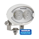 Narva 9-64V LED Work Light Marine Oval Waterproof Single Lamp 72446W