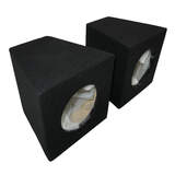 6 Inch Speaker Box One Pair Sealed Black Carpet SB60A