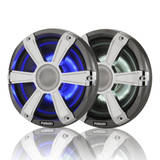 Fusion Marine Signature 7.7 inch LED Light Speakers Chrome Grill 280W SG-FL77SPC