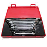Teng Tools - 8 Piece AF Ratchet Combo Spanner Set TT6508RAF