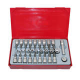 Teng Tools 30 Piece 1/4 and 3/8 inch Drive TX TPX TX-E Set TTTX30