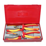 Teng Tools 4 Piece Pliers Set 1000 Volt Insulated TTV440