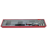 Teng Tools - 13 Piece 1/4 inch 3/8 inch and 1/2 inch Drive Extension Set