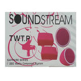 Soundstream Tweeters Crossovers 1 Inch 220W Pink Twt.P Pair