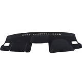 Dashmat Subaru Impreza G4 12/2011-2/2016 All Sedan and Hatch with Integrated Air Bag Flap U2001 Black