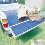 Rubber Ute Mat Landrover Defender Dual Cab 1992-On