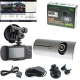 Gator HD DVR Car Blackbox Recorder Dual Camera With Gps Tracking