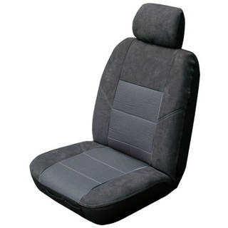Custom Made Esteem Velour Seat Covers Nissan Patrol Y62 8 Seater ST-L / TI Wagon 2/2013-On 3 Rows