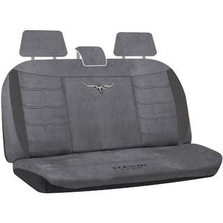 rm williams longhorn suede velour car 4wd rear seat cover size 06 rmw. Black Bedroom Furniture Sets. Home Design Ideas