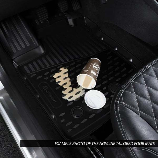 3D Rubber Floor Mats Ford Ranger PX PX2 PX3 Super Cab 2011-On 4 Piece EXP.NLC..16.73.210k