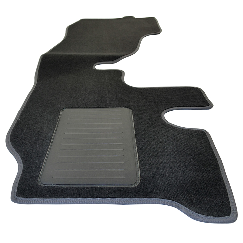 Custom Made Carpet Front Floor Mats Toyota Hiace LWB 9/1998-On TO114 Charcoal