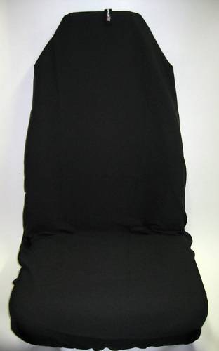 Original AXS Front Seat Covers Plain Black No Logo Single Airbag Safe