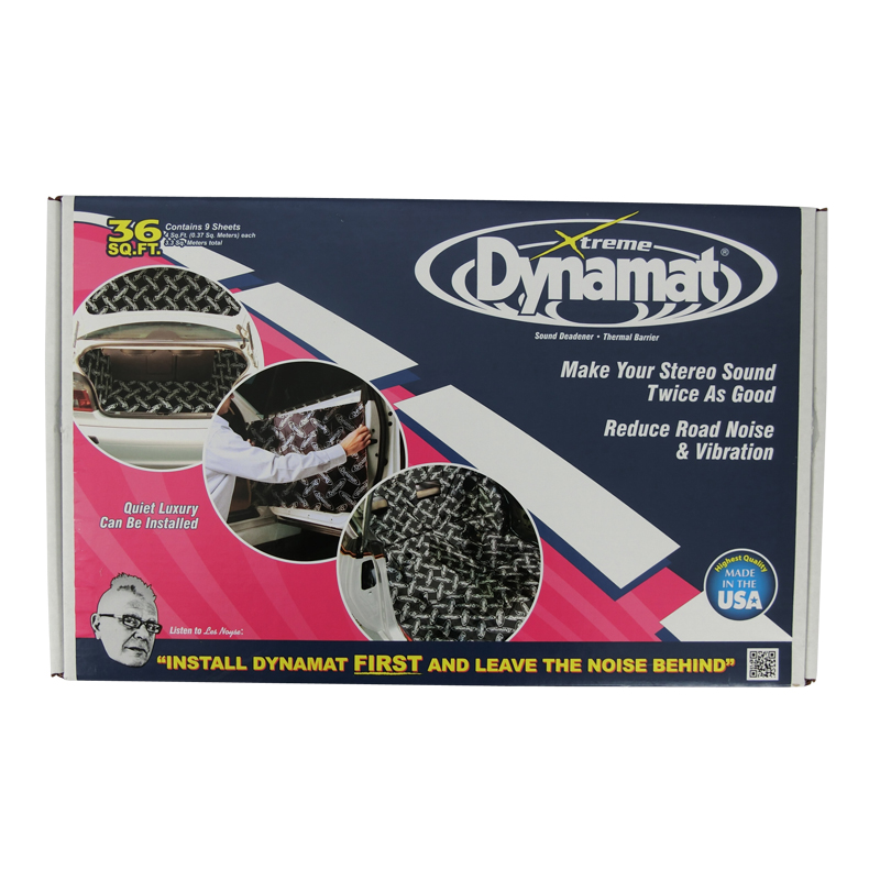 Dynamat Xtreme 9 Sheet Bulk Pack Sound Deadener Extreme Car Audio Sub Deadening #10455