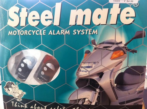 Steel Mate Motorcycle Bike Alarm Security System