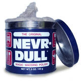 Eagle One Never Nevr Dull Magic Cotton Cloth Wadding Metal Polish 142g