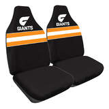 AFL Seat Covers Greater Western Sydney Giants 60 Front Pair