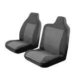 Custom Made Esteem Velour Seat Covers Mitsubishi Canter Twince Truck 1988-1990 1 Row