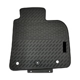 Rubber Custom Floor Mats Nissan X-Trail SUV T32 8/2014-On Front & Rear Black MRBNS002 BLK2RW