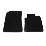 Tailor Made Floor Mats Porsche Cayenne Gen 1 2002-2010 Front Pair Oval Clips