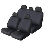 Velocity Full Wetsuit Neoprene Seat Covers Ford Ranger PX MK2 MK3 Dual Cab 6/2015-On 2 Rows