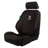 Black Duck 4Elements Black Seat Covers Ssangyong Actyon Dual Cab 2012-On