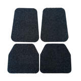 Koil Charcoal Floor Mats Front & Rear Rubber Composite PVC Coil Universal Fit
