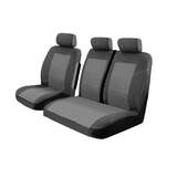 Velour Seat Covers Renault Trafic X82 SWB Single Turbo 1/2015-On 1 Row