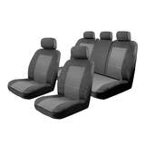Seat Covers Set Suits Skoda Fabia NJ 4D Hatch 5/2015-On Esteem Velour 2 Rows
