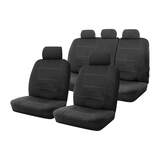 Neoprene Seat Covers Set Suits Skoda Fabia 5JF MY13 77 TSi 4D Wagon 6/2012-4/2015 Wetsuit 2 Rows
