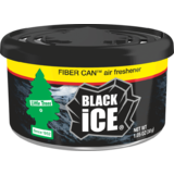 Little Trees Black Ice Fibre Can Air Freshener