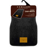 RM Williams Rmw Carpet Floor Mats Front + Rear Set of 4 Black