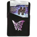 Butterfly Car Floor Mats Front & Rear Universal Fit