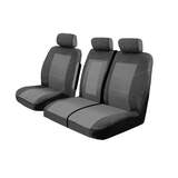 Esteem Velour Seat Covers Ford Transit Custom VN VO 290S SWB/330L LWB Van 9/2013-On Charcoal