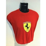 Genuine Ferrari Scudetto Red T-Shirt  Small