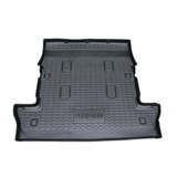 Custom Moulded Boot Liner Toyota Landcruiser 200 GXL VX Kakadu 7 Seater 11/2007-2017 3rd Row Seats Folded-up Cargo Mat