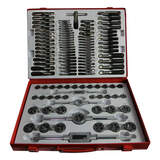 Metal Worx Tap & Die Set 110 Piece Metric, UNC, UNF and NPT 748401200